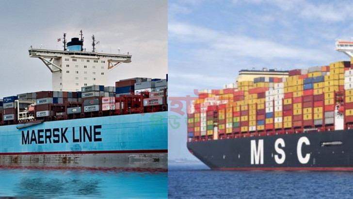 Maersk Line কে ছাড়িয়ে শীর্ষ স্থানে যাবে MSC
